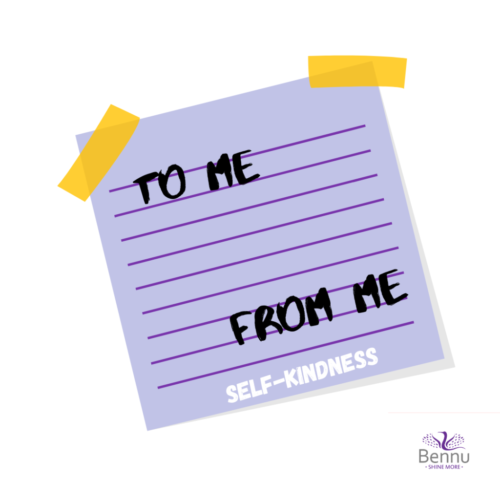 to me from me self kindness